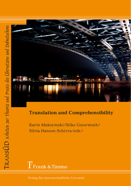 Translation and Comprehensibility - Coverbild