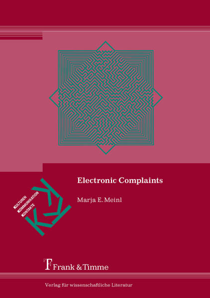 Electronic Complaints - Coverbild