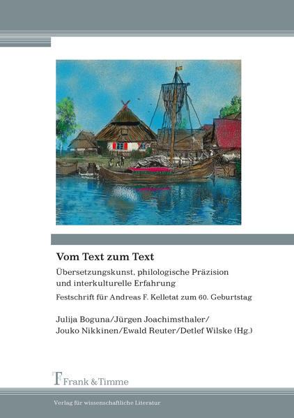 Vom Text zum Text - Coverbild