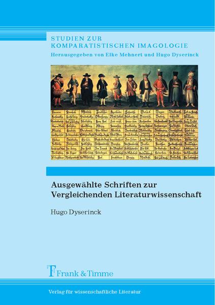 Ausgewählte Schriften zur Vergleichenden Literaturwissenschaft - Coverbild