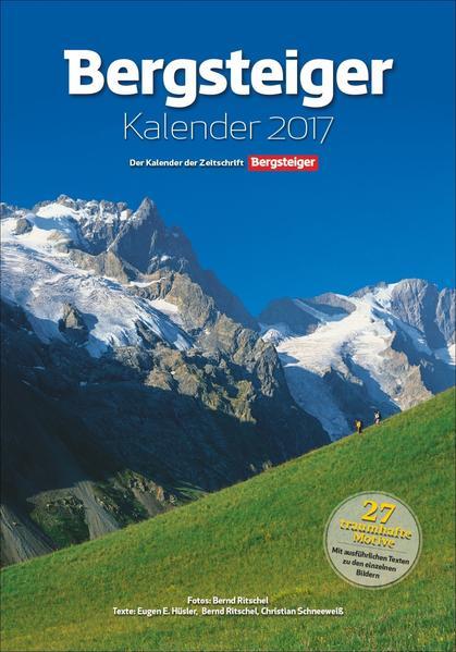 Bergsteiger Kalender 2017 - Coverbild
