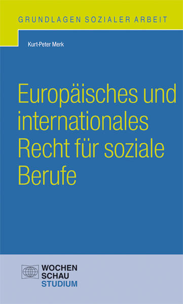 Europäisches und internationales Recht für soziale Berufe - Coverbild
