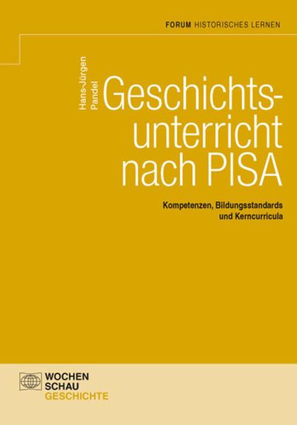 Geschichtsunterricht nach PISA - Coverbild