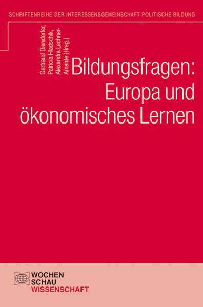 Bildungsfragen: Europa und ökonomisches Lernen - Coverbild