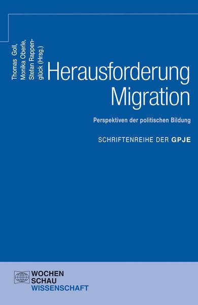 Herausforderung Migration: Perspektiven der politischen Bildung - Coverbild