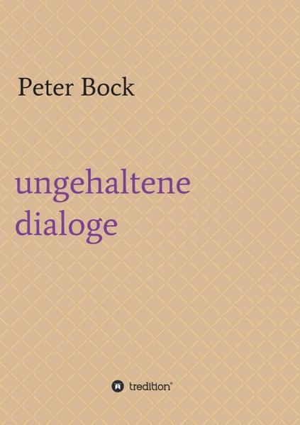 ungehaltene dialoge - Coverbild