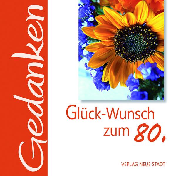 Glück-Wunsch zum 80. - Coverbild