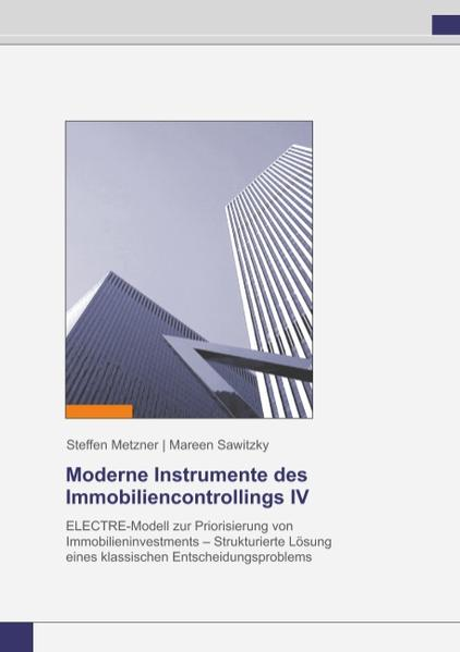 Moderne Instrumente des Immobiliencontrollings IV - Coverbild