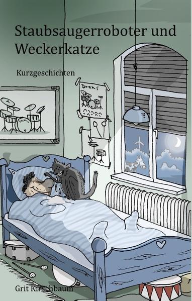 Staubsaugerroboter und Weckerkatze - Coverbild