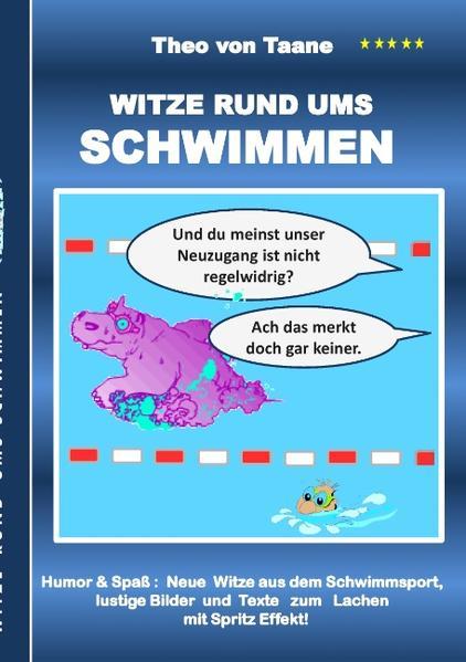 Witze rund ums Schwimmen - Coverbild