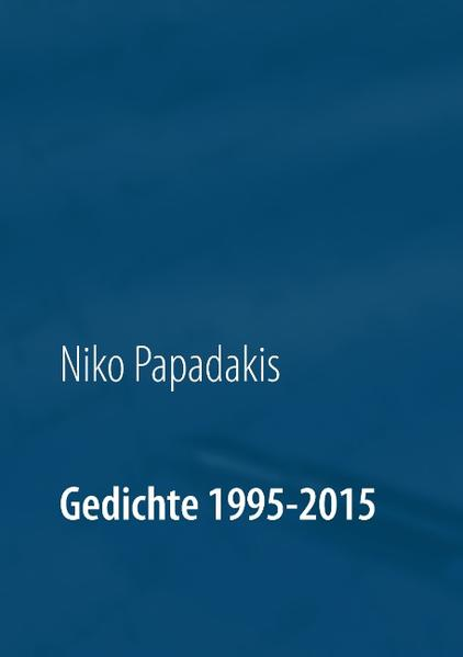 Gedichte 1995-2015 - Coverbild