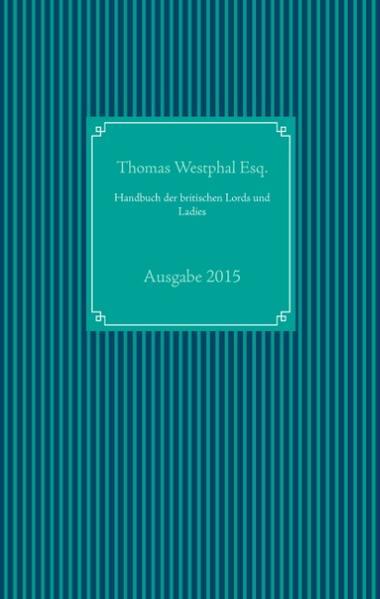 Handbuch der britischen Lords und Ladies - Coverbild
