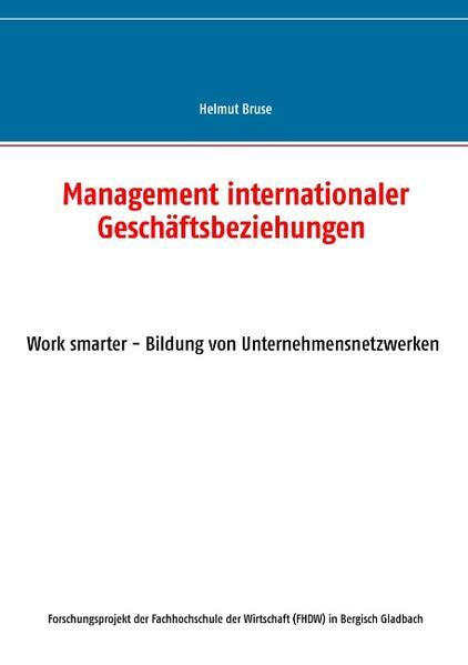 Management internationaler Geschäftsbeziehungen - Coverbild