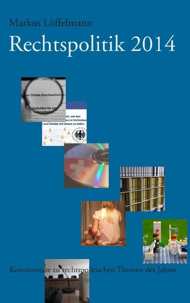 Rechtspolitik 2014 - Coverbild