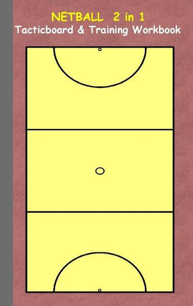 Netball 2 in 1 Tacticboard and Training Workbook - Coverbild