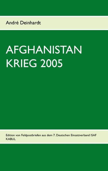 Afghanistan Krieg 2005 - Coverbild