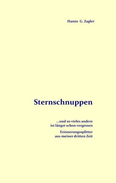 Sternschnuppen - Coverbild