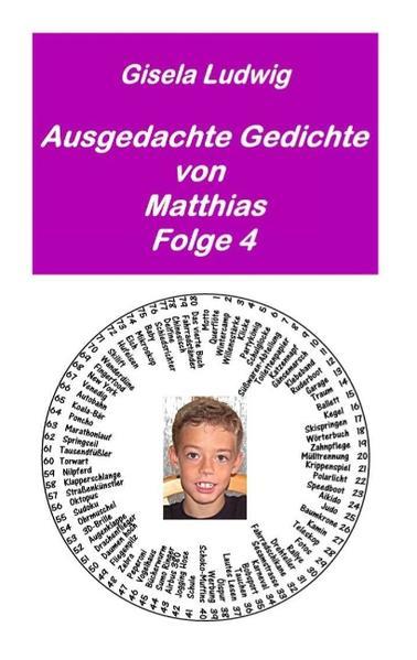 Ausgedachte Gedichte von Matthias - Coverbild
