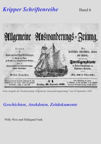 Kripper Schriftenreihe Band 6 - Coverbild