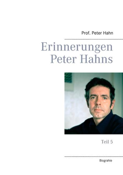 Erinnerungen Peter Hahns - Coverbild