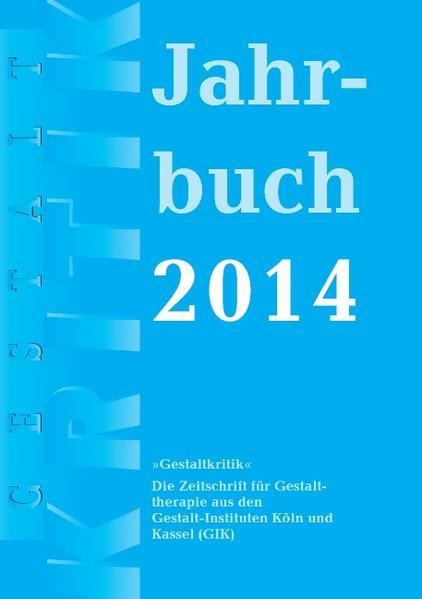 Gestaltkritik Jahrbuch 2014 - Coverbild