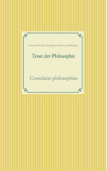 Trost der Philosophie - Coverbild
