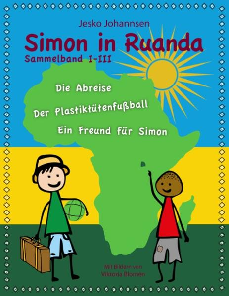 Simon in Ruanda - Der Sammelband - Coverbild