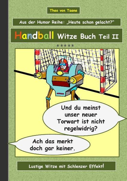 Handball Witze Buch - Teil II - Coverbild