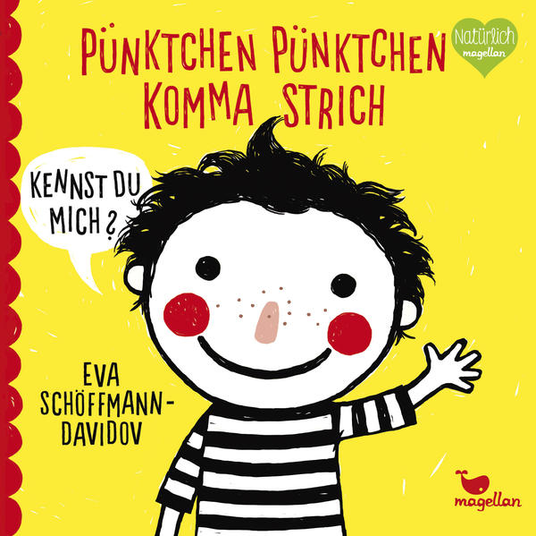 Pünktchen Pünktchen Komma Strich - Coverbild