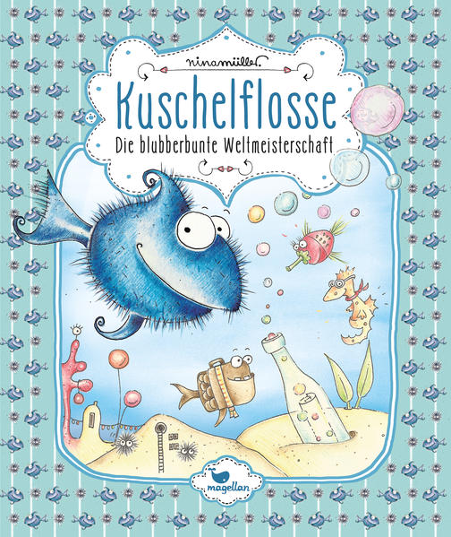 Kuschelflosse – Die blubberbunte Weltmeisterschaft – Band 2 - Coverbild