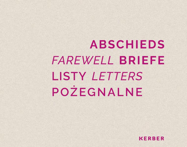 Abschiedsbriefe - Coverbild