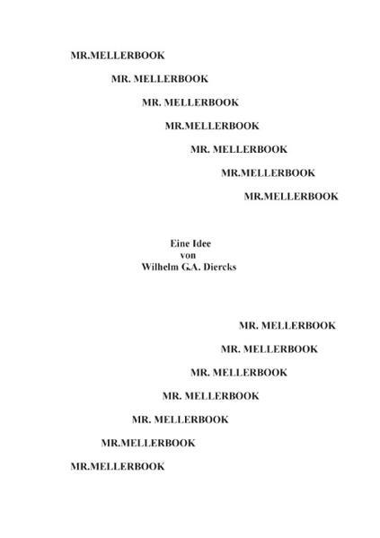 Mr. Mellerbook - Coverbild