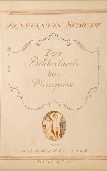 Das Bilderbuch der Marquise - Coverbild