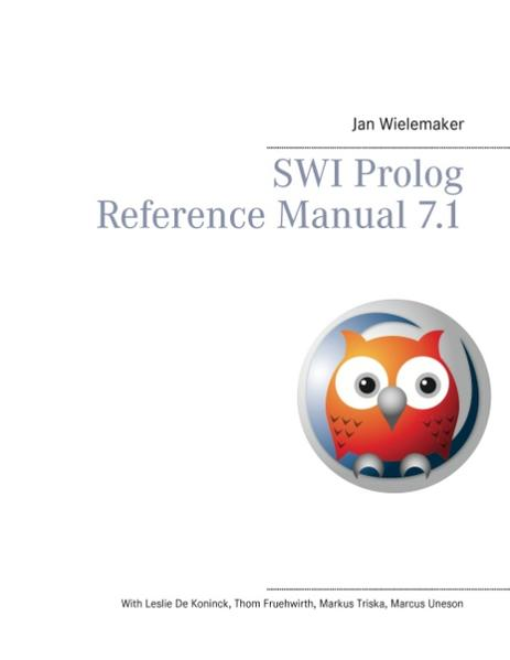 SWI Prolog Reference Manual 7.1 - Coverbild