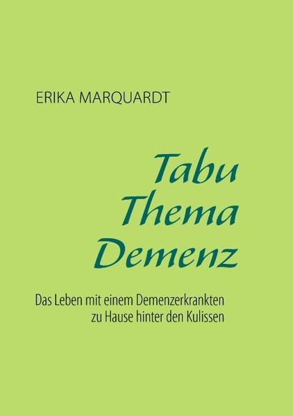 Tabu Thema Demenz - Coverbild