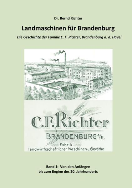 Landmaschinen für Brandenburg - Coverbild