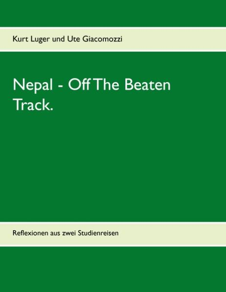 Nepal - Off The Beaten Track. - Coverbild
