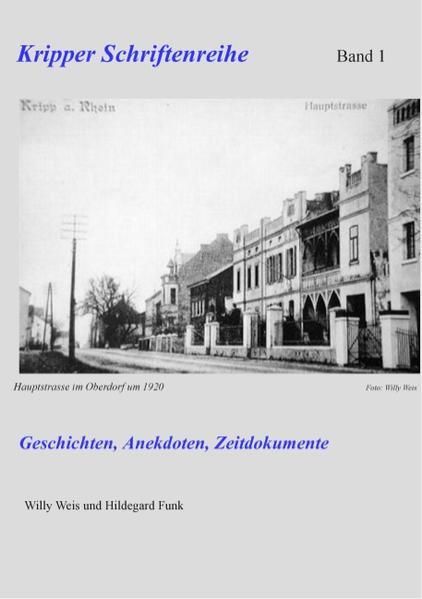 Kripper Schriftenreihe Band 1 - Coverbild