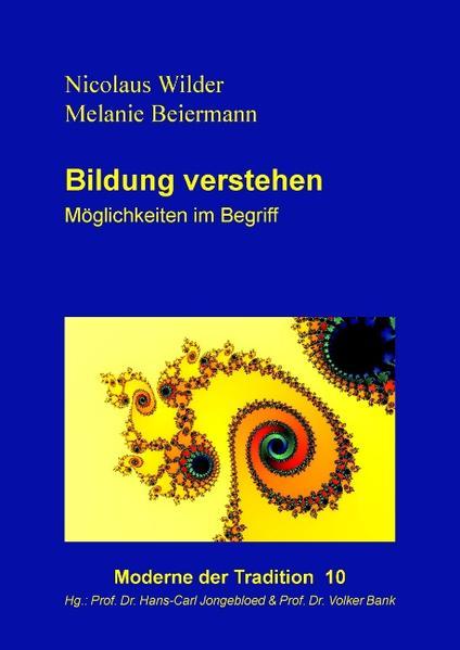 Bildung verstehen - Coverbild