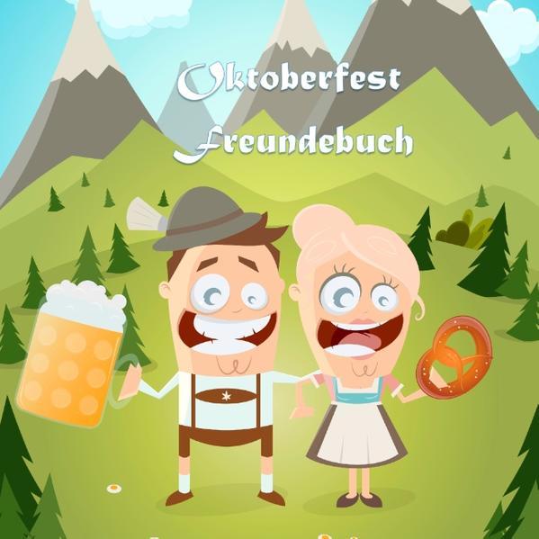 Oktoberfest Freundebuch - Coverbild