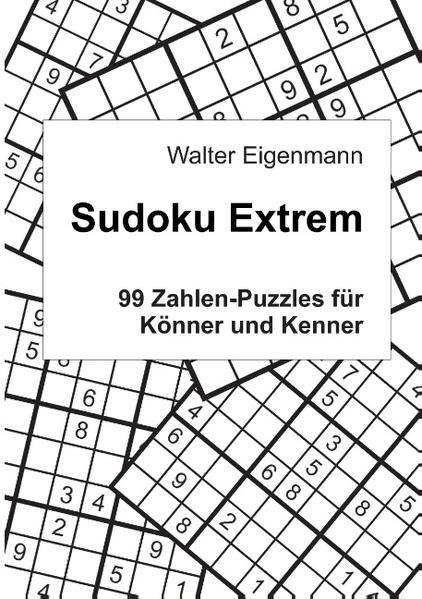 Sudoku Extrem - Coverbild