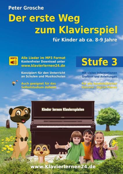 Der erste Weg zum Klavierspiel (Stufe 3) - Coverbild