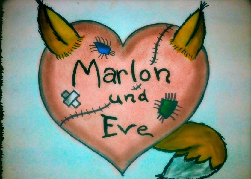 Marlon und Eve - Coverbild