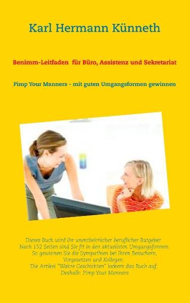 Benimm-Leitfaden für Büro, Assistenz und Sekretariat - Coverbild