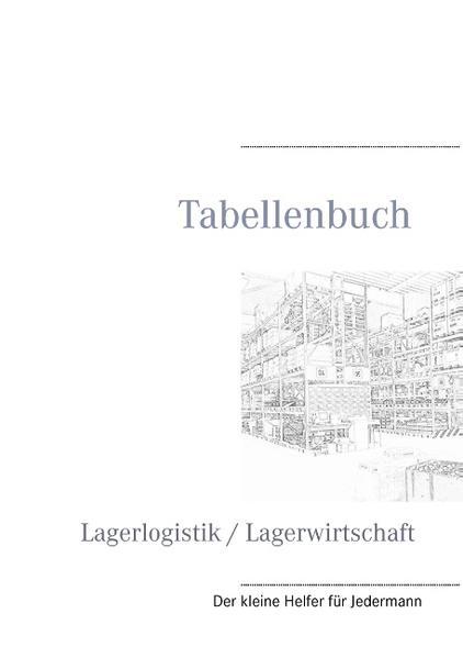 Tabellenbuch Lagerlogistik / Lagerwirtschaft - Coverbild