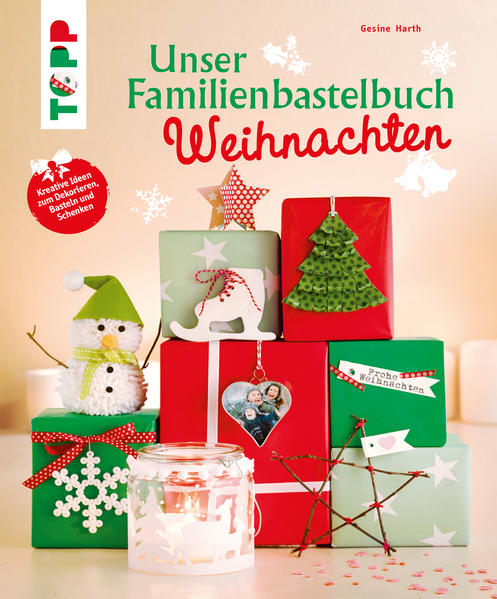 Unser Familienbastelbuch Weihnachten - Coverbild
