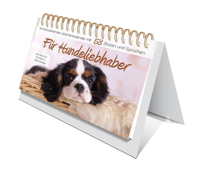 Aufstell-Spiral-Kalender Hundeliebhaber - Coverbild