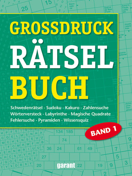 Grossdruck Rätsel Band 1 - Coverbild