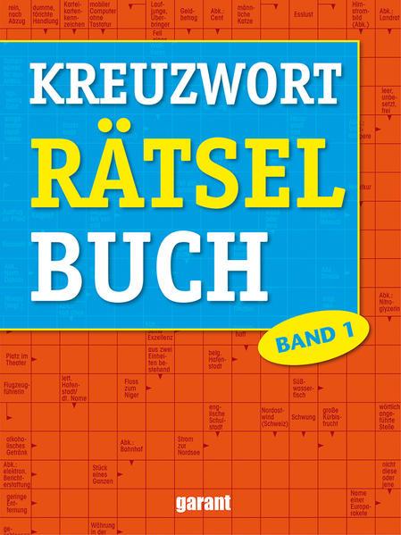 Kreuzworträtsel Buch Band 1 - Coverbild