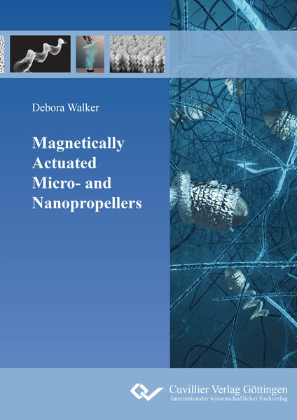 Magnetically Actuated Micro- and Nanopropellers - Coverbild